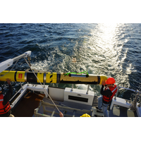 The U.S. Navy's REMUS 600 AUV is fitted with Kraken's AquaPix MINSAS Synthetic Aperture Sonar. (Photo: Kraken)