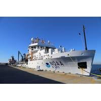 NOAA Ship Henry B. Bigelow alongside in Newport, R.I. (Photo: NOAA)