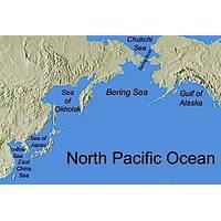 Sea of Okhotsk area image courtesy of NOAA