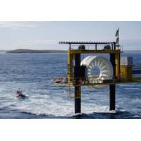 OpenHydro's research tidal turbine (Image: OpenHydro)