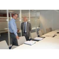 Peter Caluwaerts and Hans Henrik Bruusgaard (Photo: Prysmian Group)