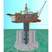 Planned Hebron GBS Platform: Image credit Statoil