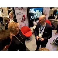 Prime Minister Norway and Jan Fredrik Carlsen of Optime Photo credit Optime