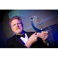 Proserv's David Lamont holds the Company of the Year Award