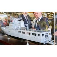 SEA1180 Offshore Patrol Vessel Model - Credit: Australian Navy