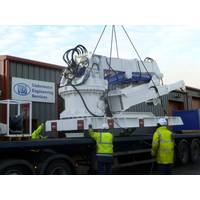 UES Seanic engineers complete the refurbishment of client's marine crane (Photo: UES Seanic)