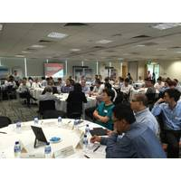 Senior managers and technical personnel from ABS and Keppel participated in a two-day workshop. Photo ABS