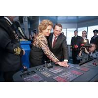 At Simulator Controls: Photo credit Sovcomflot