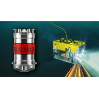 Sonardyne's SPRINT-Nav all-in-one subsea navigation instrument for underwater vehicles. (Image: Sonardyne)