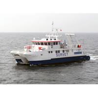 Specialist Semi-SWATH coastal survey vessel Bibby Tethra (Photo: Osiris Projects)