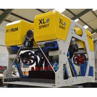 The XLe Spirit ROV is the first in a new generation of electric ROVs - Credit: FORUM