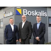 Stuart Cameron, managing director, Tim Sheehan, Business Development Director and Dax Edgly, Assets, Operations and Engineering Manager (Photo: Boskalis Subsea Services)