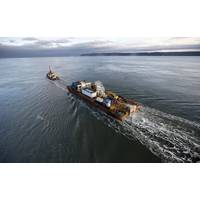 Subsea power cable being installed at FORCE. (Photo: FORCE)