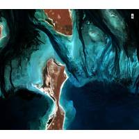TCarta will deploy machine learning and computer vision techniques to enhance satellite derived bathymetry in the littoral zone. (Image source: Copernicus Sentinel data 2018)