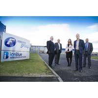 The new team joins Derek Penny, Corporate Development Director outside Ferguson Group Aberdeen headquarters. (L-R: Gordon Bennett, Mick Rash, Judith Verner, Allan Mitchell, Derek Penny)