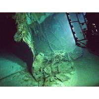 Torn off bow from the HMAS Sydney wreckage. (Photo: Ashtead Technology)