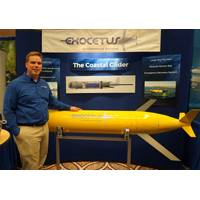 Joe Turner and Exocetus' Coastal Glider (Photo: Eric Haun)
