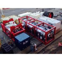 Unique System HRF set up dockside