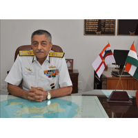 Vice Admiral Vinay Badhwar (Photo courtesy of UKHO)