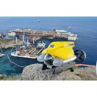 VideoRay performed in one of the most historic salvage  operations ever; the set-up for the removal of Costa Concordia.