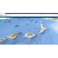 3D visualisation of the Canary Islands (Image: EMODnet)