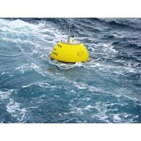 Waverider buoy at sea (File photo: EMEC)