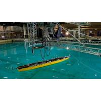 Your sea trials, here: a SINTEF test basin. Credit: SINTEF