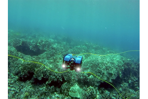 BlueROV2 – Honaunau Bay (Photo: Blue Robotics)