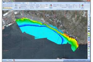EdgeTech 6205 Real-Time Bathy Acquisition example (Data courtesy of EdgeTech)