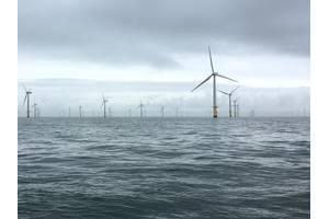 The Gwynt Y Mor wind farm. Photo from Rovco.