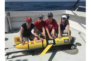 For me personally, it was the first project that I've worked with gliders. As a biologist, it was a lot of fun, but also the partnerships made and the opportunities provided to students has been amazing. They've been able to work with this technology. They've learned a lot about chemistry just through working with the sensor. So it iss providing a lot of STEM education to our graduate and our undergraduate students. Photo Courtesy Rutgers University/Grace Saba
