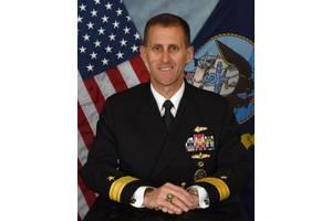 Rear Admiral John Okon, Commander, Naval Meteorology and Oceanography Command