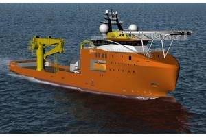 DOF Subsea's long term chartered construction support vessel, Normand Reach