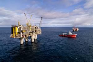 The Troll A platform, offshore Norway. Source: Øyvind_Gravås_and_Espen_Rønnevik, from Equinor.