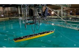 Your sea trials, here: a SINTEF test basin. Credit: SINTEF