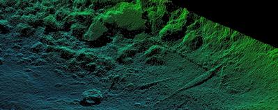 A 600kHz, 100-degree scan from the EM2040 (Photo: Kongsberg Maritime)