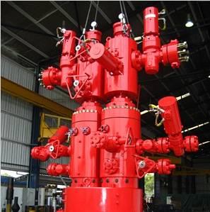 Aker splitter wellhead system (Photo: Aker Solutions)