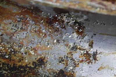 Apollo 11 Engine Identification: Photo courtesy of Jeff Bezos blog