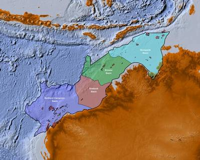 Map of basins encompassed by the NWS JumpStart package (Image: CGG)