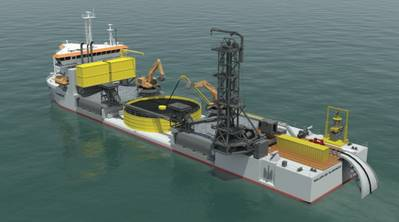 Cable Turntable & Equipment: Image credit Jan De Nui