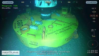 One of the CANs that was installed on an exploration well in the Norwegian North Sea in April 2020