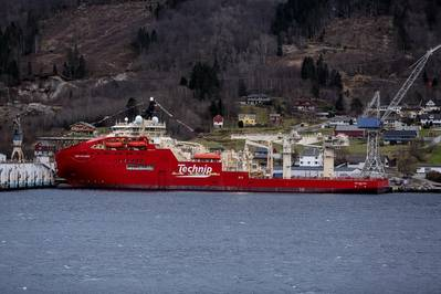 Deep Explorer (Photo: Peder Otto Dybvik / Technip)