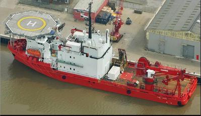 DP2 Deepsea Worker Photo Pharos Offshore Group