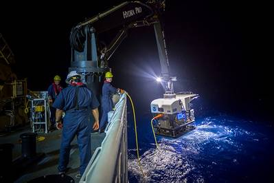 Discoverer will have the ability to deploy remotely operated vehicles to explore the ocean. (Photo: NOAA)