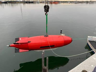 The DIVE-LD with Kraken SeaPower batteries and AquaPix SAS (Photo: Kraken)