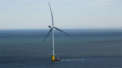 One of DONG Energy's turbines in the U.K. (Photo: DONG Energy)