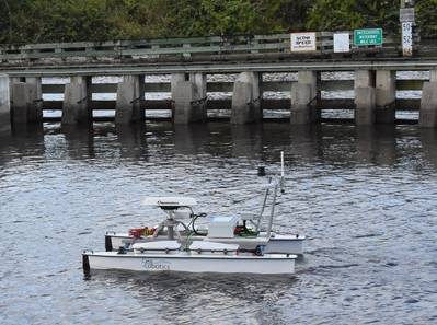 A dynamic array of sensors for NC State's Center for Marine Science and Technology (CMAST) will aid in valuable data collection. (Photo: SeaRobotics)