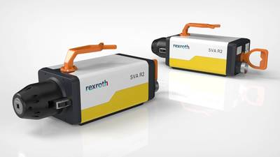 The SVA R2 electric subsea valve actuator from Bosch Rexroth replaces the hydraulic cylinders that were previously required in the subsea process industry. (Image source: Bosch Rexroth AG)