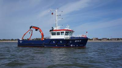 The new RV Mya II equipped with Werum's DSHIP data management system, Source: Florian Lange, Alfred Wegener Institute