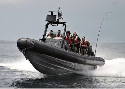 Example of RHIB: Photo credit Wiki CCL